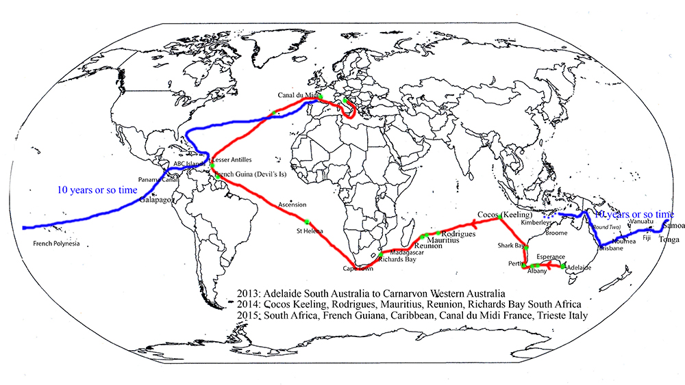 Our Planned Voyage 2015 1000pix