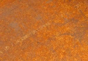 The original cork flooring